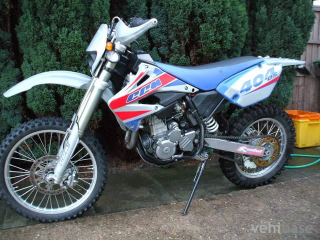 CCM 450 DS Supermoto 2008 #3