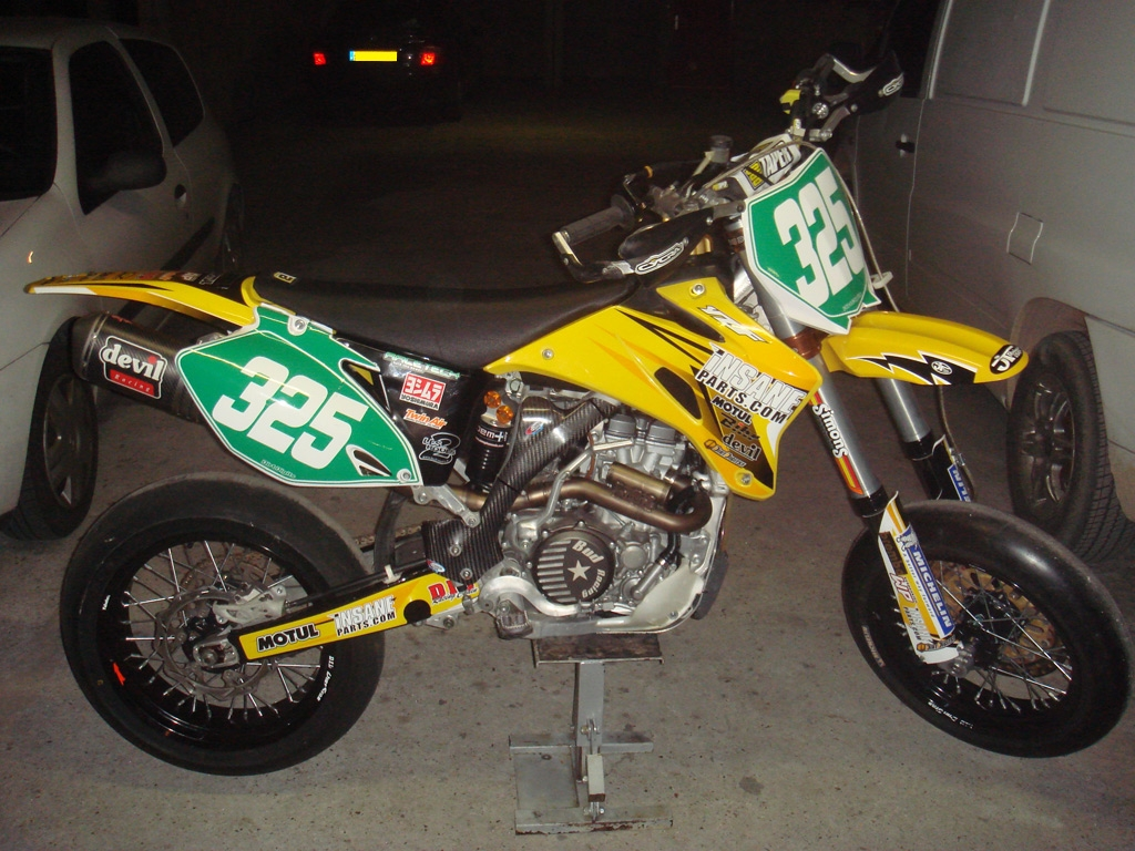 CCM 450 DS Supermoto 2008 #7