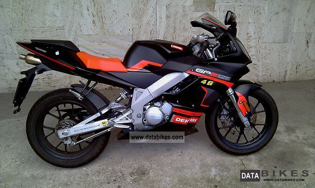 Derbi GPR 125 Racing 2009 #11