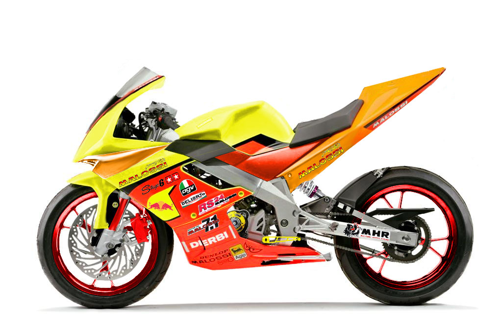Derbi GPR 50 Racing Race Replica #10