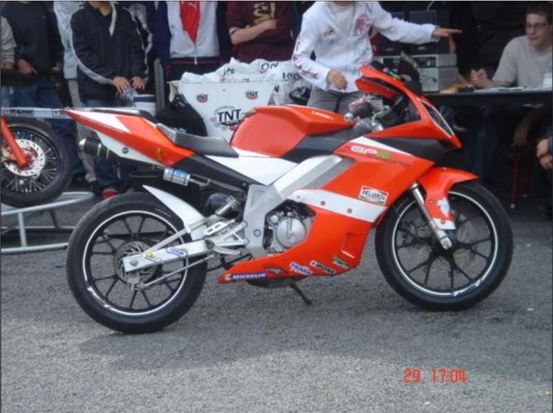 Derbi GPR 50 Racing Replica Di Meglio #9