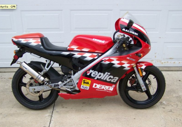 Derbi GPR Racing 50 Race Replica 2008 #10