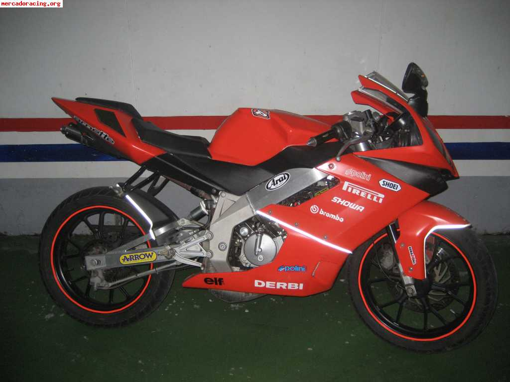 Derbi GPR Racing 50 Race Replica 2008 #12