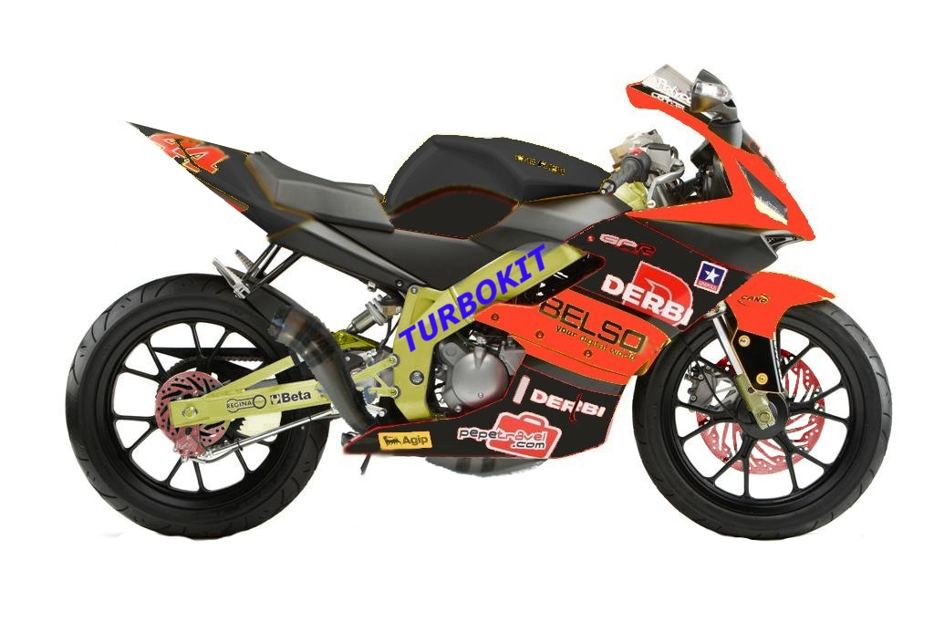 Derbi GPR Racing 50 Race Replica 2008 #2