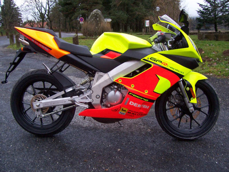 Derbi GPR Racing 50 Race Replica #7