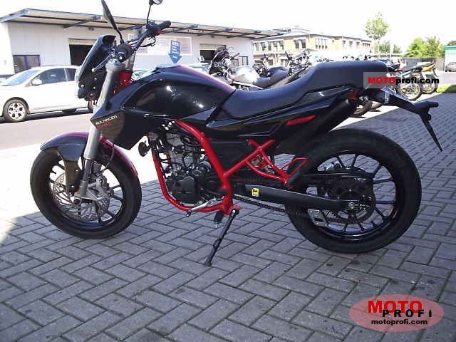 Derbi Mulhacen Cafe 125 2009 #2
