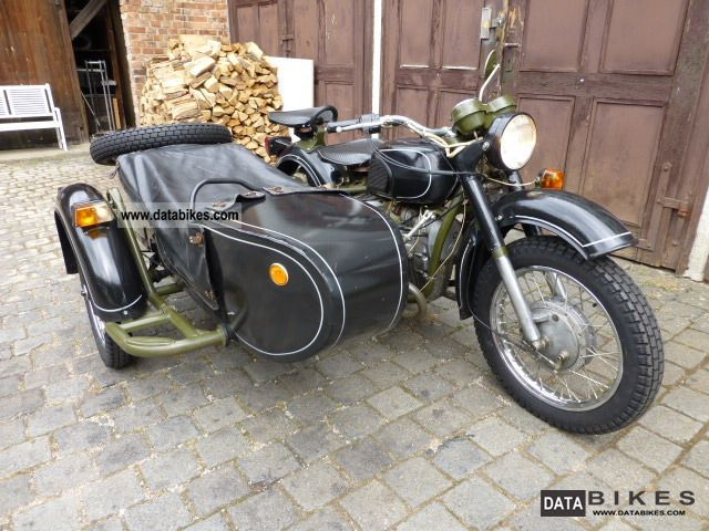 Dnepr MT 10 (with sidecar) #8