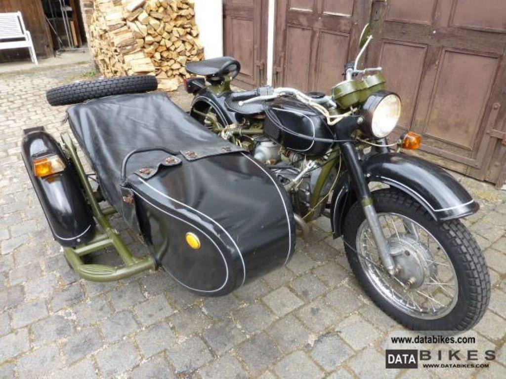 Dnepr MT 12 (with sidecar) 1983 #3