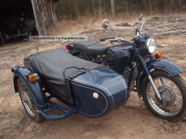 Dnepr MT 12 (with sidecar) 1983 #8
