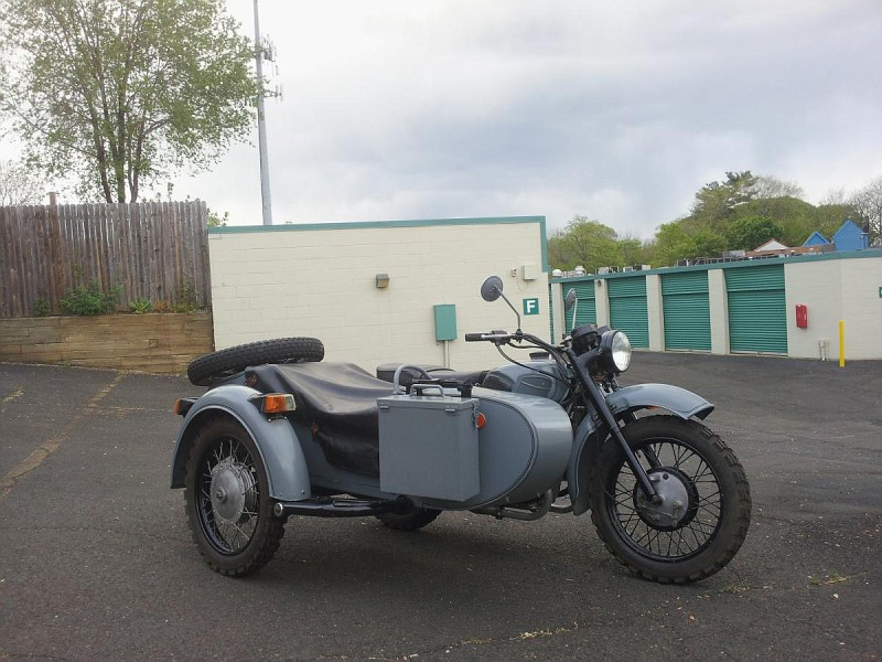 Dnepr MT 16 (with sidecar) #10