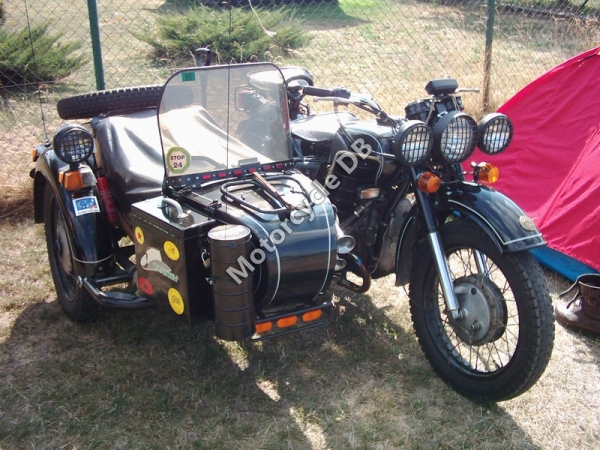 Dnepr MT 16 (with sidecar) #14
