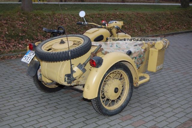 Dnepr MT 16 (with sidecar) 1987 #10