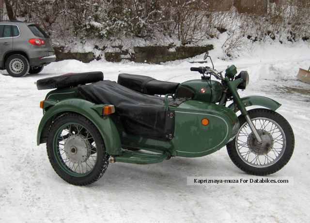 Dnepr MT 16 (with sidecar) 1987 #2