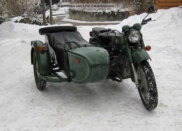 Dnepr MT 16 (with sidecar) 1987 #3