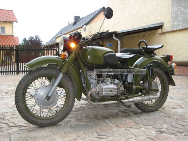 Dnepr MT 16 (with sidecar) 1991 #12