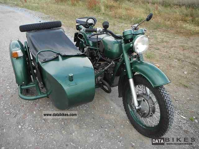 Dnepr MT 16 (with sidecar) 1991 #2