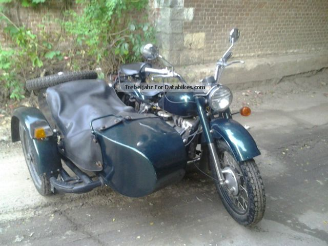 Dnepr MT 16 (with sidecar) 1991 #4