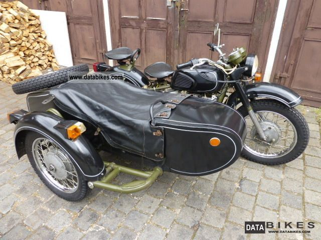Dnepr MT 16 (with sidecar) #2