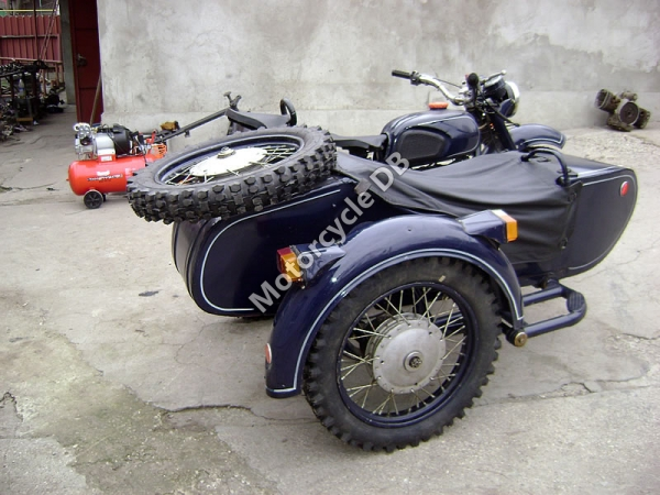 Dnepr MT 16 (with sidecar) #3
