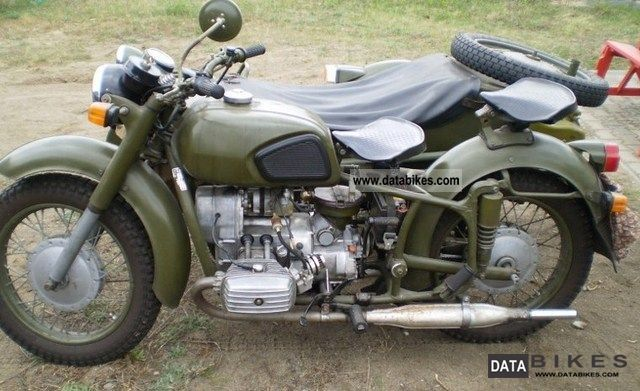 Dnepr MT 16 (with sidecar) #7