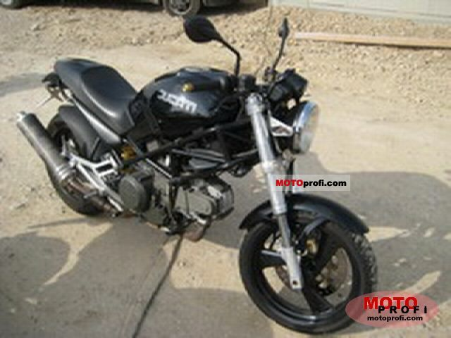 Ducati 600 Monster Dark 1998 #12