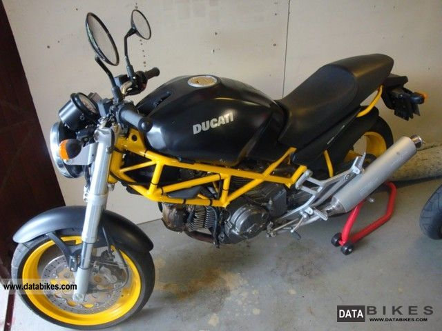 Ducati 600 Monster Dark 1998 #5