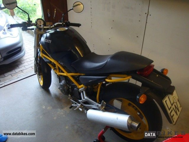 Ducati 600 Monster Dark 1998 #8