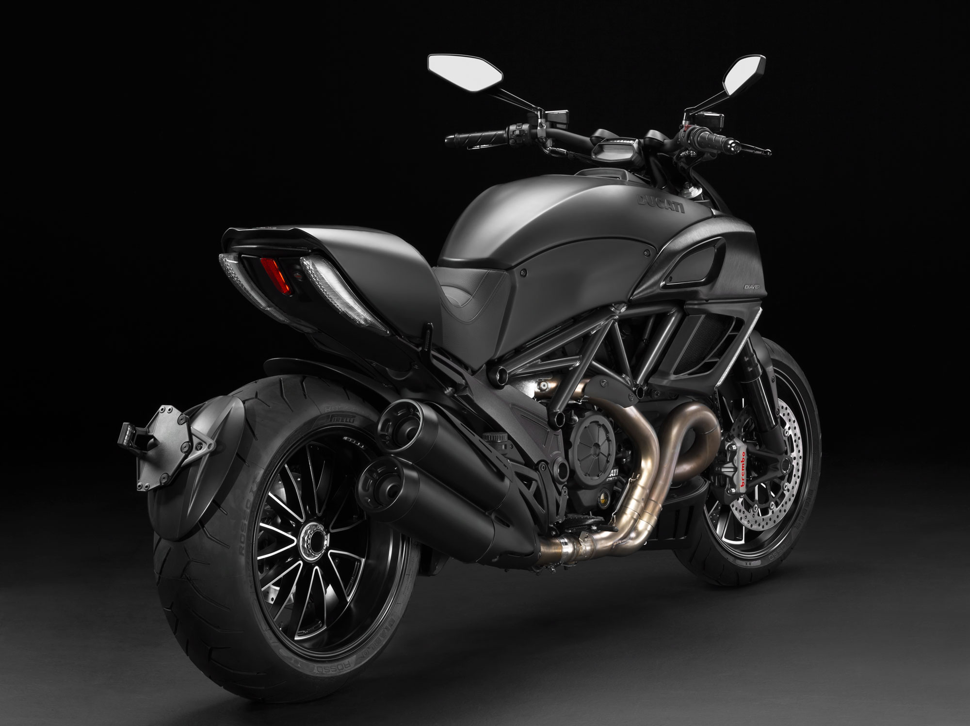 Ducati Diavel Dark 2013 #1