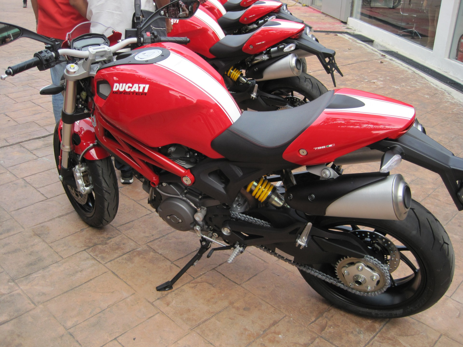 Ducati Monster 796 Corse Stripe 2014 #13