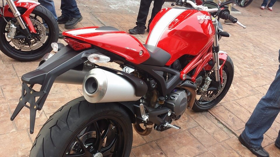 Ducati Monster 796 Corse Stripe 2014 #4