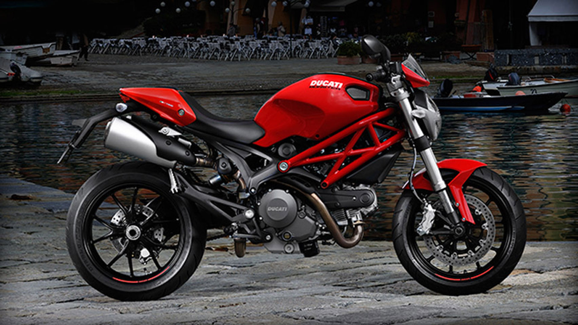 Ducati Monster 796 Corse Stripe 2014 #5
