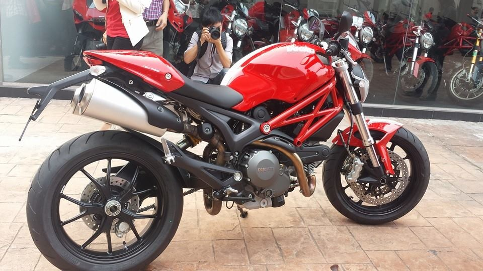 Ducati Monster 796 Corse Stripe 2014 #8
