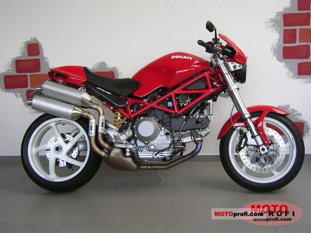 2007 DUCATI MONSTER S2R 1000 - Image #2