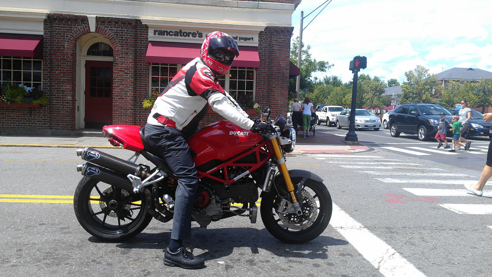 Ducati Monster S4Rs Testastretta 2007 #6
