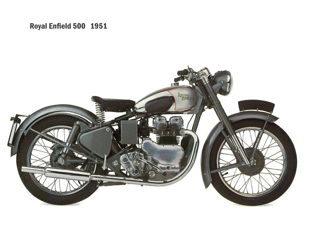 Enfield 500 Bullet (reduced effect) 1991 #8