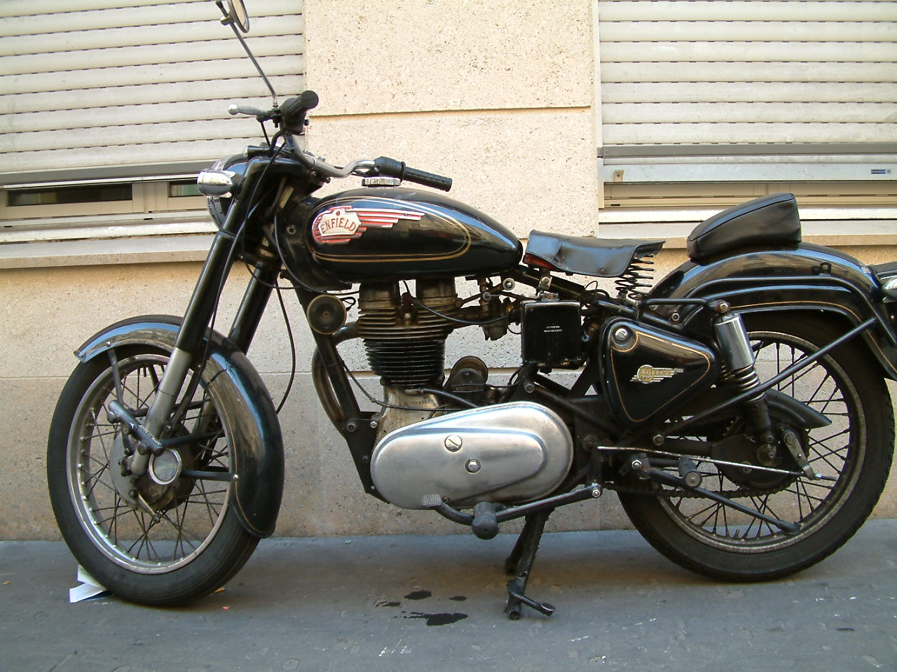 Enfield 500 Bullet (reduced effect) 1991 #5