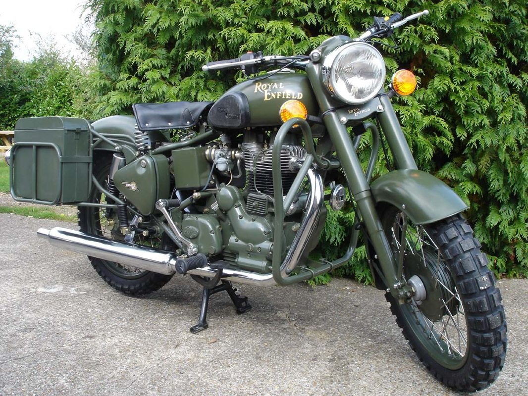 Enfield Bullet Military 2007 #1