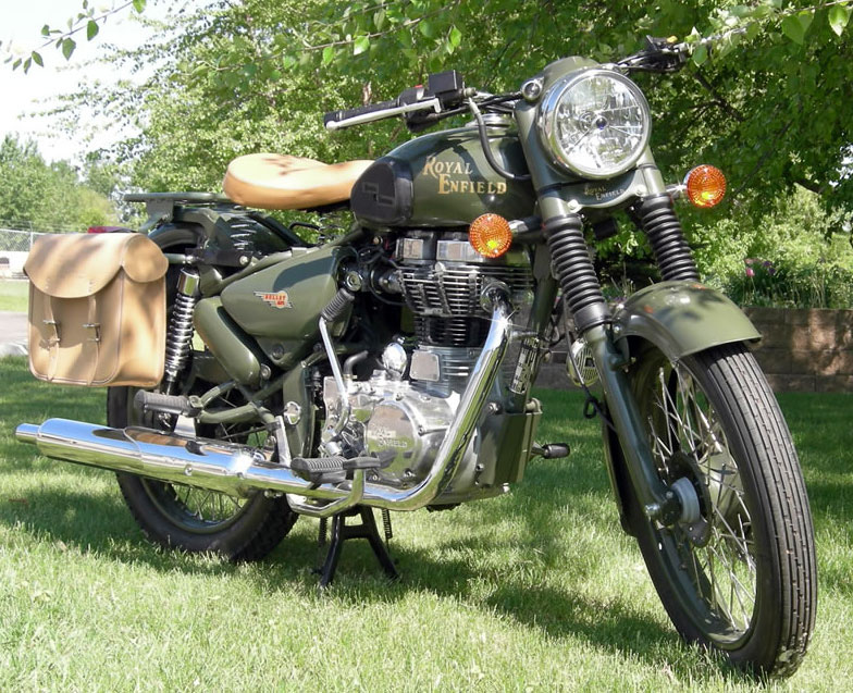Enfield Bullet Military 2007 #3