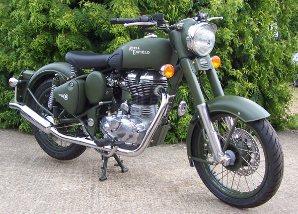 Enfield Bullet Military 2007 #4