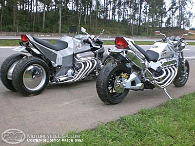 Enjoy the Cosmos Muscle Bikes 2RWF V8, a great muscle bike #7