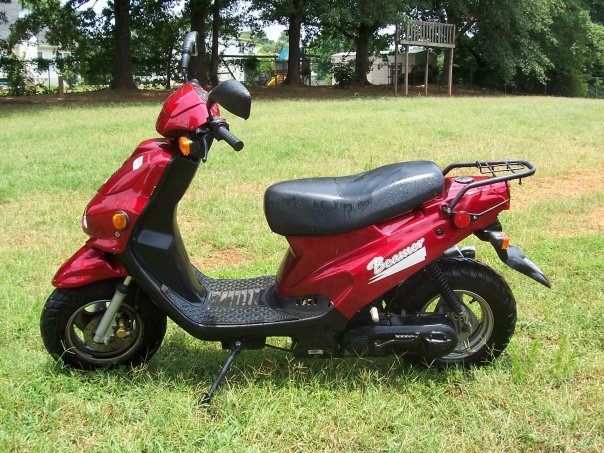 E-Ton Beamer 50, a scooter from the early 2000s #8