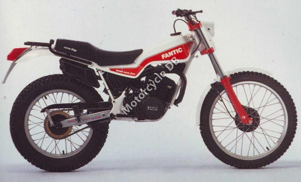 Fantic Trial 241 Seven Days 1988 #1