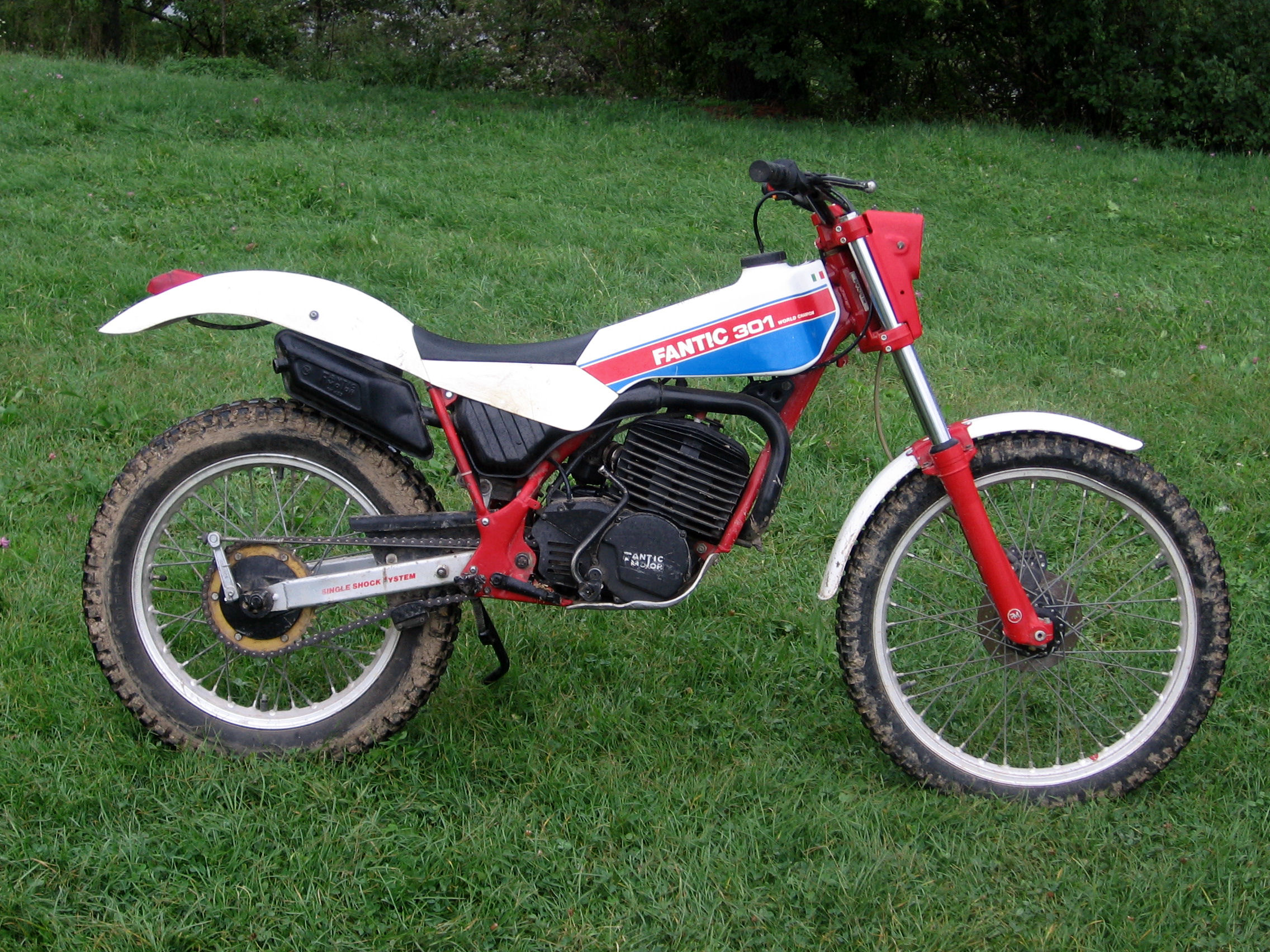 Fantic Trial 241 Seven Days 1989 #8