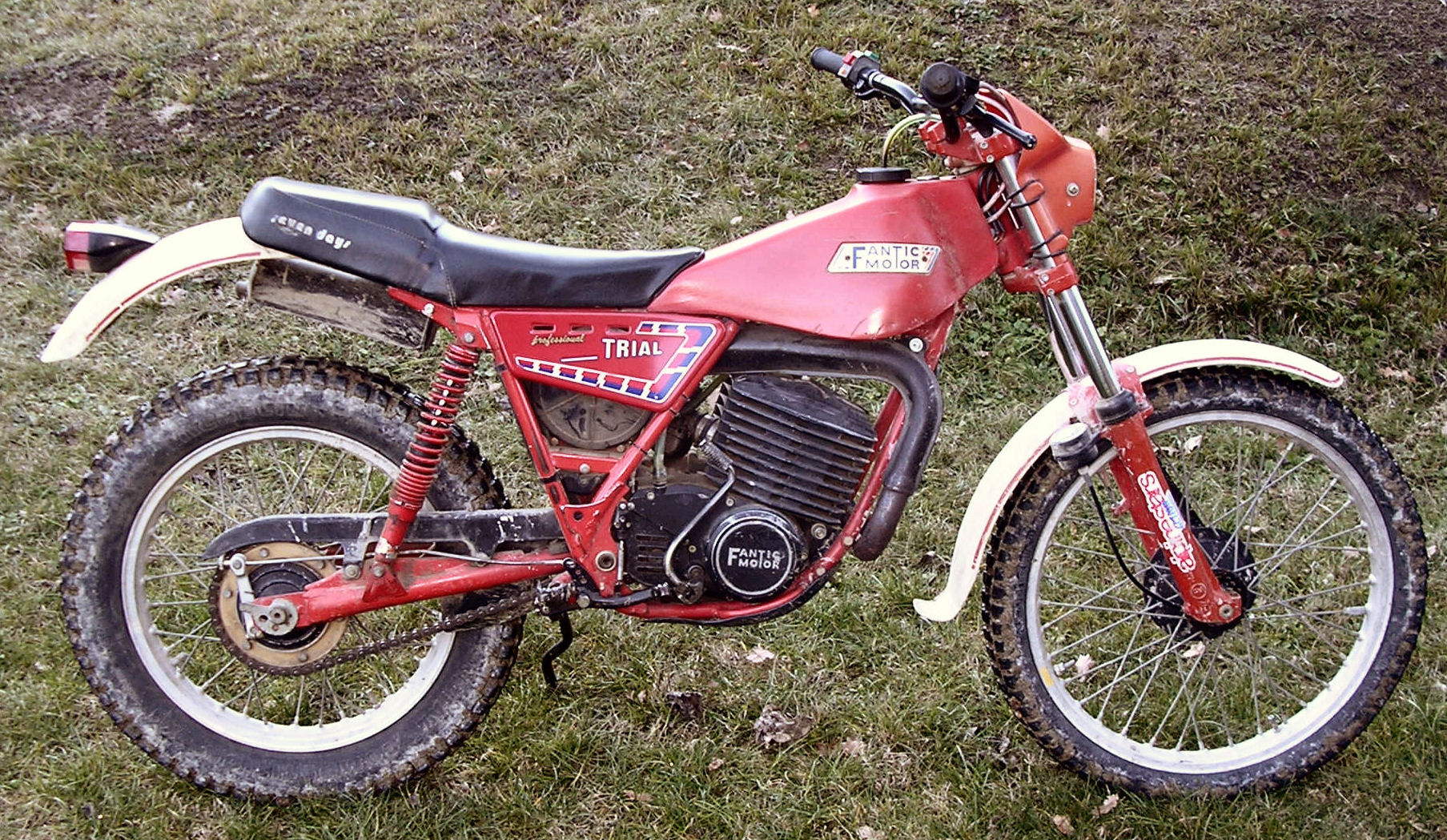 Fantic Trial 241 Seven Days 1989 #9