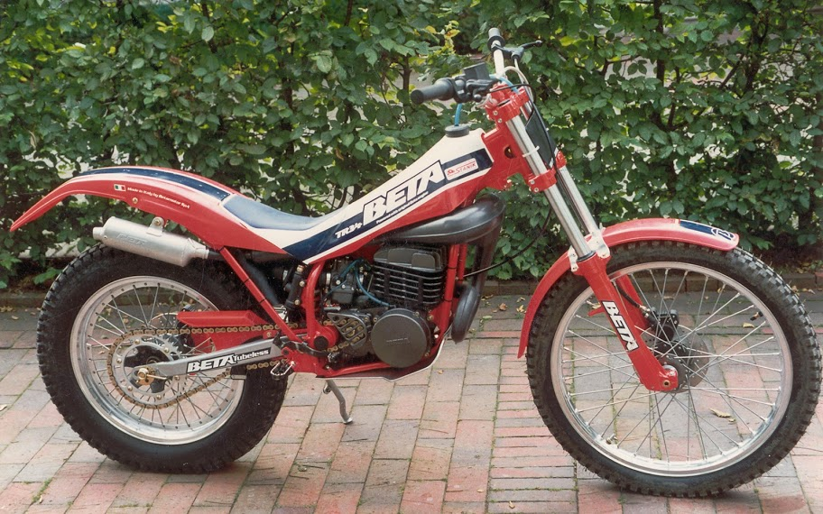 Fantic Trial 241 Seven Days 1989 #4