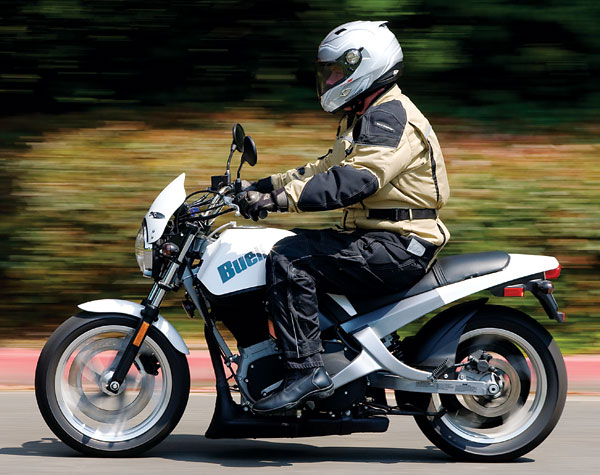 Feel Comfortable with Buell Blast #6