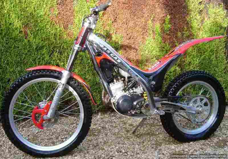 GAS GAS TXT Rookie 80 2T 2010 #5