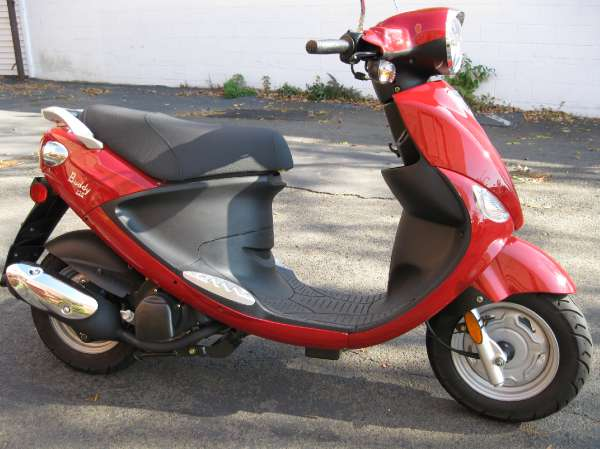 2009 GENUINE SCOOTER BUDDY 125 - Image #4