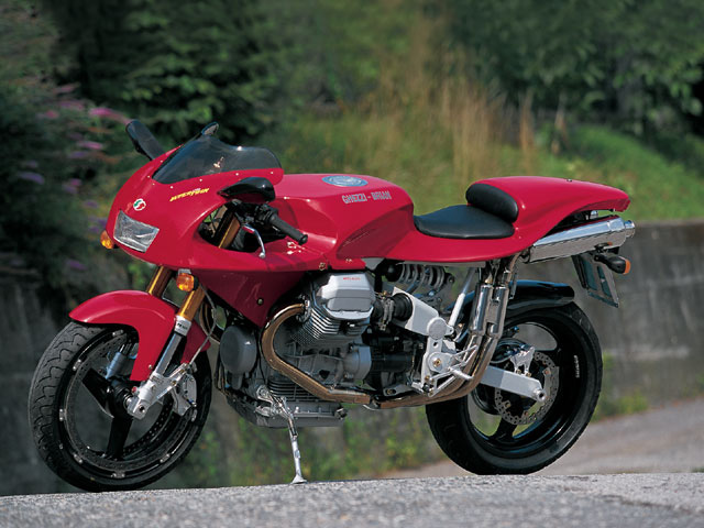 Ghezzi-Brian Supertwin 1100 - cool to look, cool to handle #9