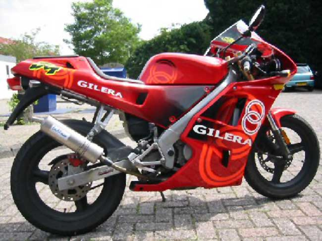 Gilera 600 Nordwest (reduced effect) 1992 #10